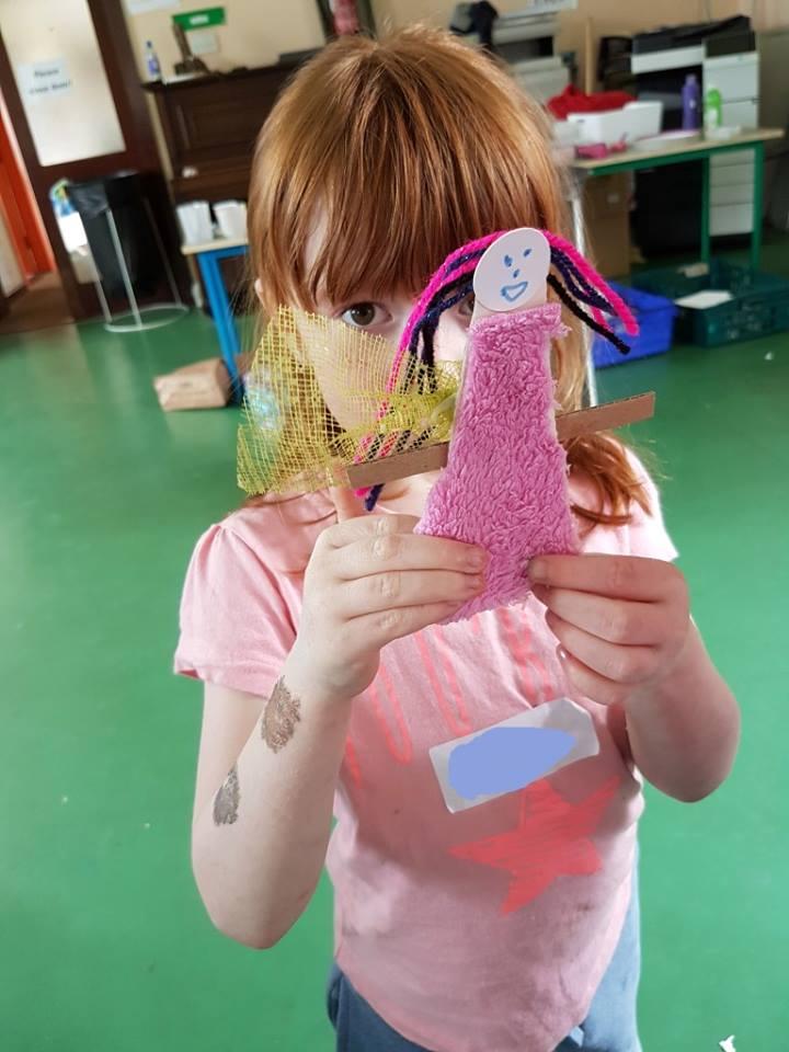 fairy,  fairy door, fairy art project for children, art for kids, fairy door to make, art class, summer camp, fairy door painting