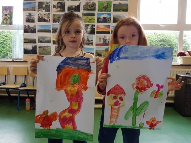 art for kids, summer camp, art classes, happy kids, art activities, fairy, fairy door, fairy tree, fairy garden, crazy art