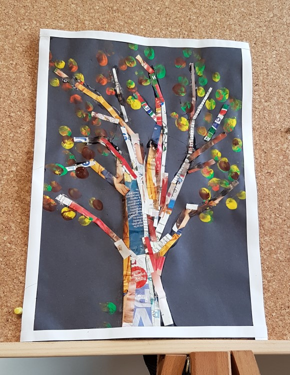 Fall, art project, autumn art ideas, kids art