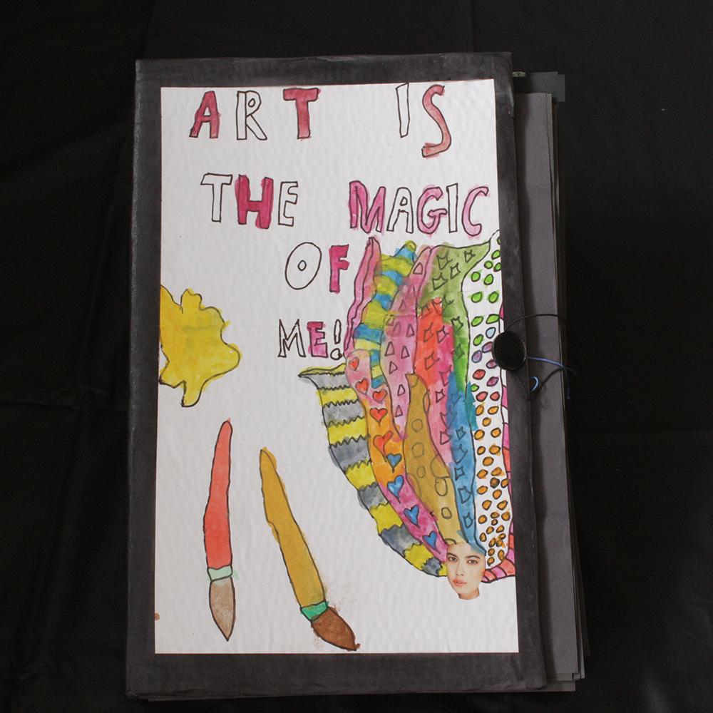 art is magic, art project, the end of the year project, after school, art for kids
