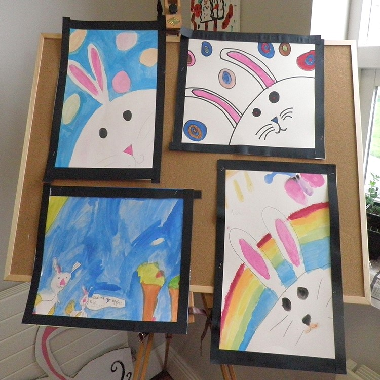 Easter camp, Easter art, Easter bunny