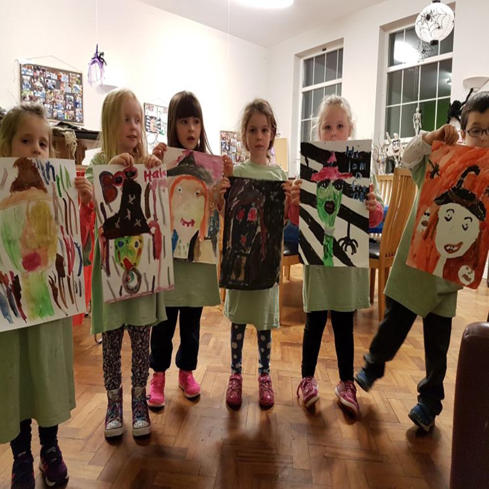 Halloween, witch, Halloween art, Halloween project