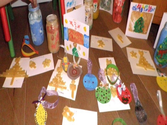 #Christmas art #Xmas camp #Xmas kids art