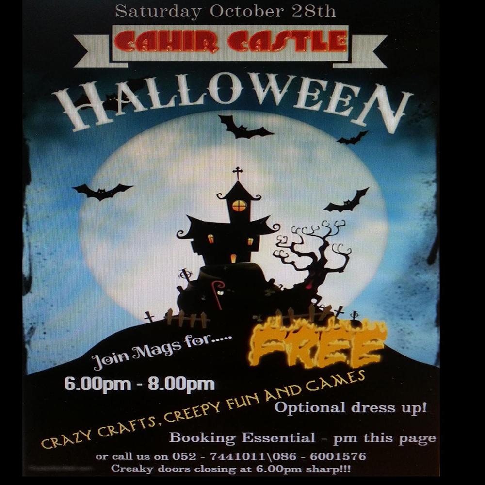 Halloween, castle, art, craft