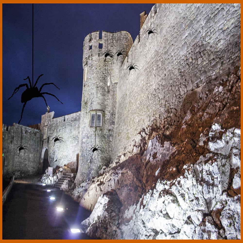 #Cahircastle, #Halloween, #castle, #creepyHalloween