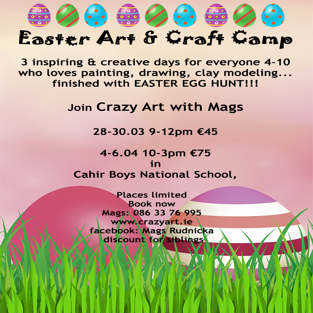 Easter #camp #Eastecamp #Eastercraft #Egghunt