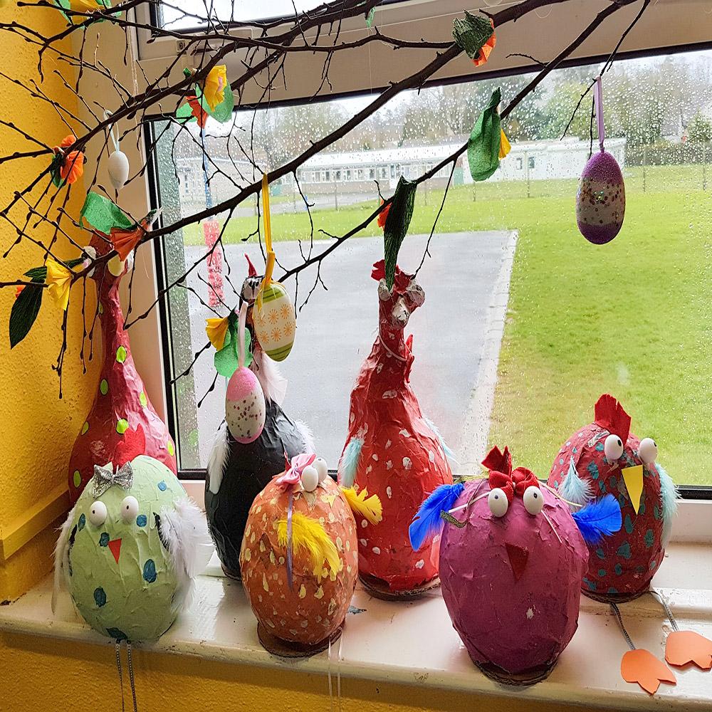 #hen #Easter #Easterart #Eastercraft #Easteregg