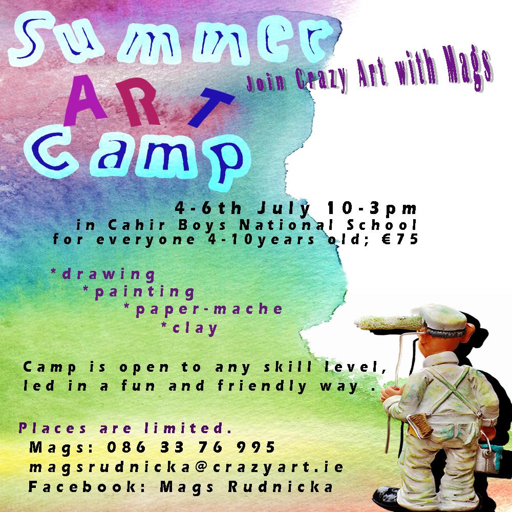 #summercamp #artcamp