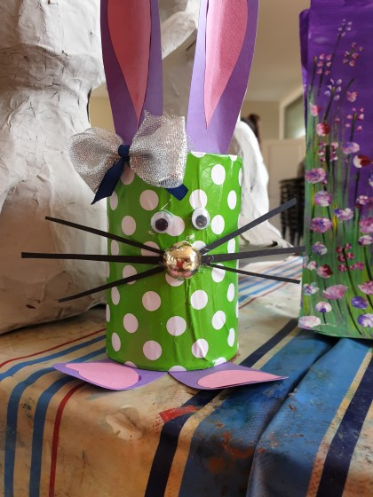#Easterbunny #Easter craft # Easter #rabbit #Easterrabbit #pencilholder