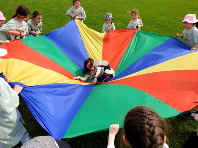 #outsidetime #outsidefun #outsideactivities #outsidetime #outsidefun #outsideactivities #Parachute #parachutegames